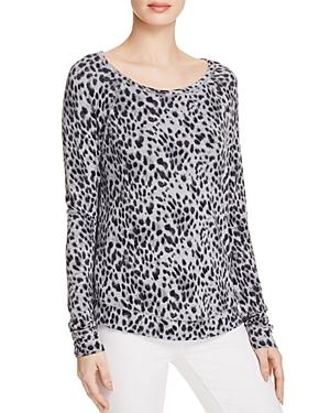 Soft Joie Annora B Animal Print Sweatshirt