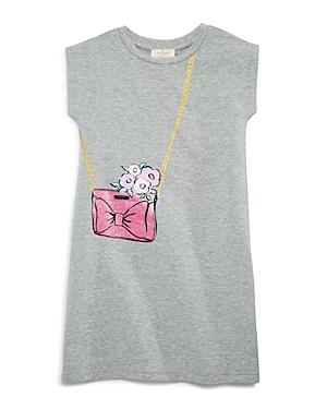 kate spade new york Girls' Trompe L'Oeil French Terry Sweatshirt Dress - Big Kid