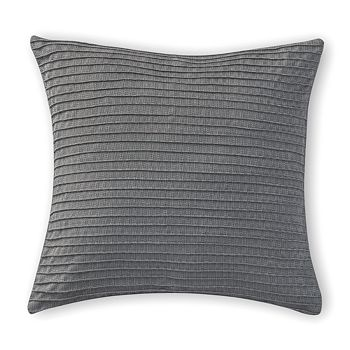 """Waterford - Blossom Pintucked Decorative Pillow, 16"""" x 16"""""""