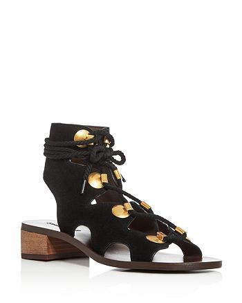 See by Chloé - Women's Gladiator Lace Up Sandals