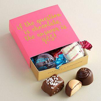 Harry London - Yes! Assorted Chocolates Mini Gift Card Box