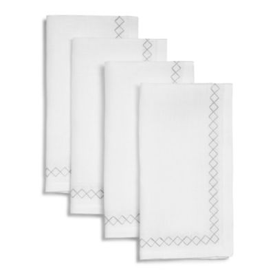 $SFERRA Perry Dinner Napkins, Set of 4 - Bloomingdale's