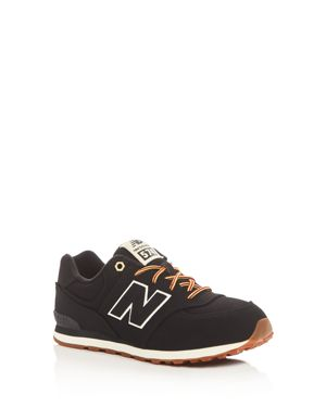 New Balance Boys' 574 Heritage Sport Lace Up Sneakers - Big Kid