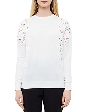 Ted Baker Lace-Inset Sweater