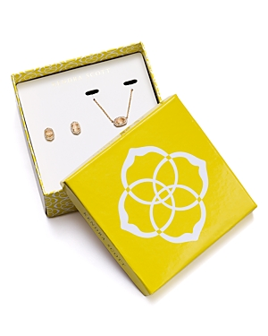 Kendra Scott Cade Earrings and Chelsea Necklace Gift Set