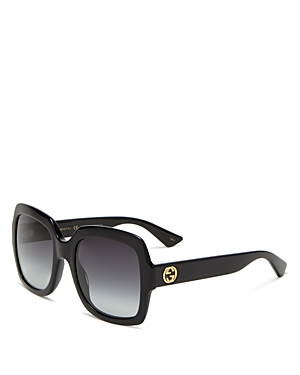 Gucci Women\\\'s Oversized Gradient Square Sunglasses, 54mm-Jewelry & Accessories