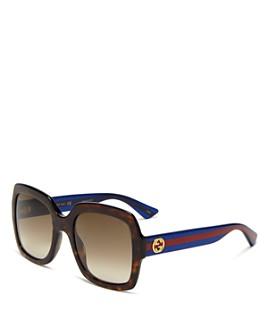 Gucci - Women's Oversized Gradient Square Sunglasses, 54mm