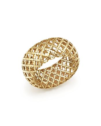 a23bb0703 Gucci 18K Yellow Gold Diamantissima Ring | Bloomingdale's
