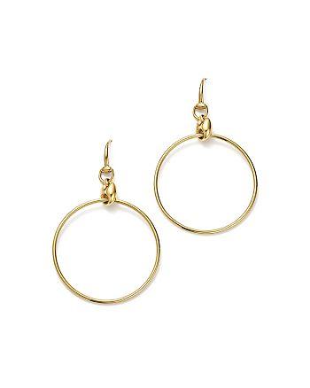 36e846ef62b Gucci - 18K Yellow Gold Marina Chain Hoop Earrings