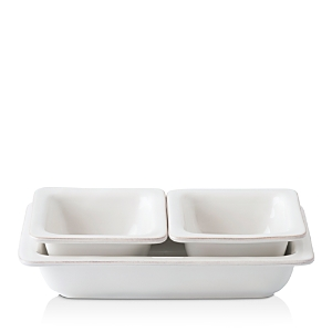 Juliska Puro Whitewash 3-Piece Hostess Set