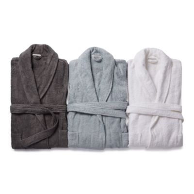 $Coyuchi Unisex Cloud Loom Organic Cotton Robe - Bloomingdale's
