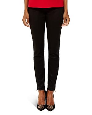 Ted Baker Coated Skinny Jeans in Black
