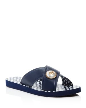 Tory Burch Melody Crisscross Pool Slide Sandals
