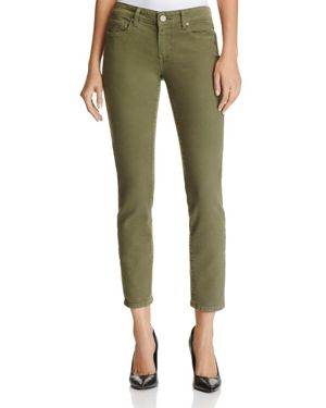 Paige Kylie Cropped Skinny Jeans in Faded Leaf - 100% Exclusive