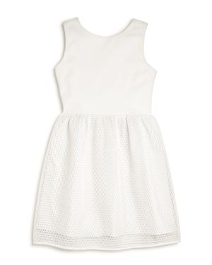 Aqua Girls' Dress with Net Skirt, Big Kid - 100% Exclusive