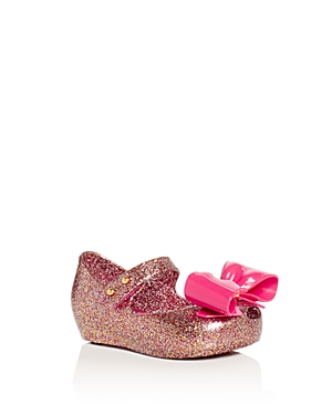 Mini Melissa Girls' Ultragirl Mary Jane Flats - Walker, Toddler