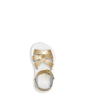 Salt Water Sandals - Girls' Sun San Metallic Swimmer Sandals - Walker, Toddler