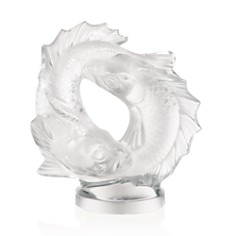 Lalique Medium Clear Double Fish Sculpture - Bloomingdale's_0