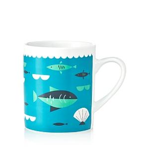 Magpie  Jay Ahoy Fish Big Mug