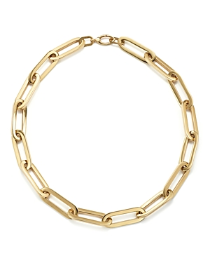14K Yellow Gold Large Link Necklace, 16 - 100% Exclusive