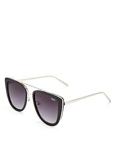 Quay - Women's French Kiss Oversized Square Sunglasses, 54mm