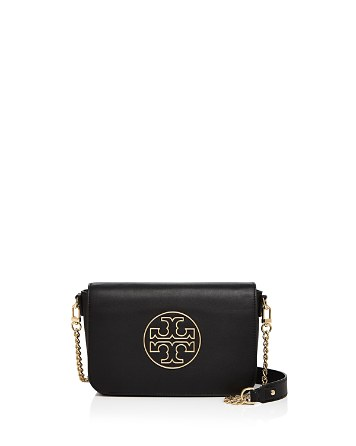 $Tory Burch Isabella Leather Clutch - Bloomingdale's