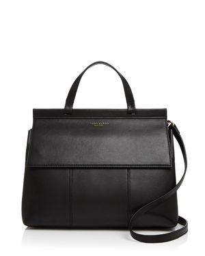 Tory Burch Block-t Leather Satchel 2462951