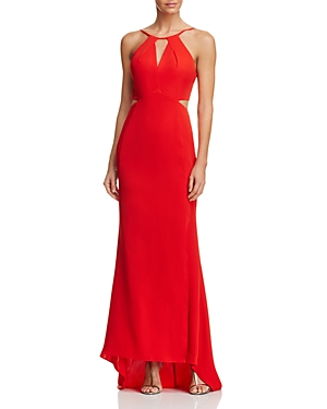 Aqua Cutout Gown - 100% Exclusive