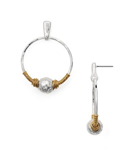 Robert Lee Morris Soho - Wire Hoop Earrings