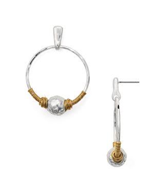 Robert Lee Morris Soho Wire Hoop Earrings