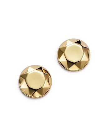 0ba176bbd Bloomingdale's - 14K Yellow Gold Faceted Dome Earrings - 100% Exclusive
