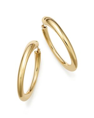 Bloomingdale's 14K Yellow Gold Large Oval Hoop Earrings - 100% Exclusive