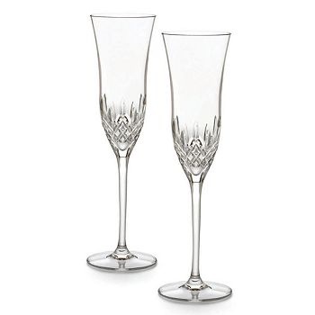 Waterford - Lismore Essence Boxed Champagne Flutes, Set of 2