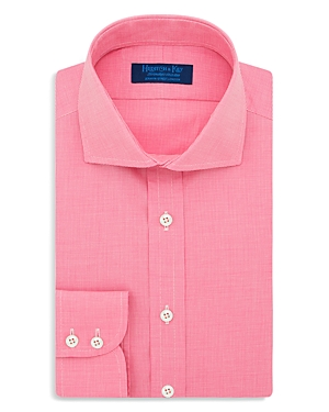 Hilditch & Key Micro Check Regular Fit Dress Shirt