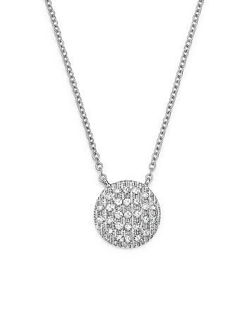 Dana Rebecca Designs - 14K White Gold Lauren Joy Medium Necklace with Diamonds