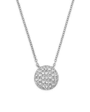 Dana Rebecca Designs 14K White Gold Lauren Joy Medium Necklace with Diamonds