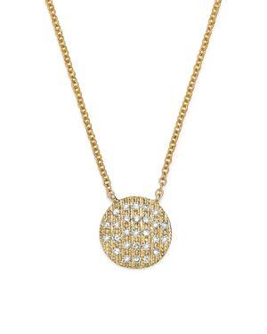 Dana Rebecca Designs 14K Yellow Gold Lauren Joy Medium Necklace with Diamonds