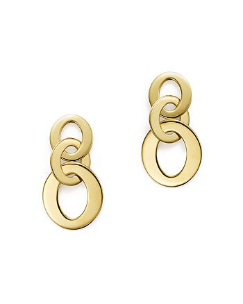Roberto Coin - 18K Yellow Gold Chic & Shine Circle Earrings