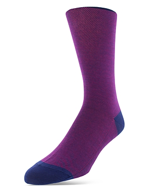 Bruno Magli Birdseye Dress Socks