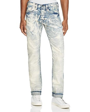 PRPS - Drainage Slim Fit Jeans in Indigo