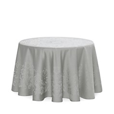 """Waterford - Celeste Tablecloth, 90"""" Round"""