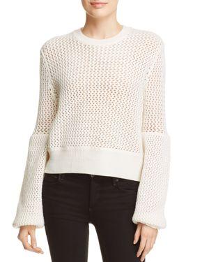 McQ Alexander McQueen Open Knit Sweater