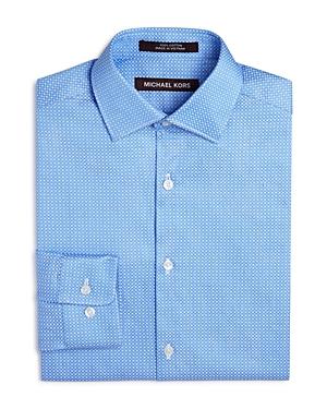 Michael Kors Boys' Jacquard Dress Shirt - Sizes 8-20
