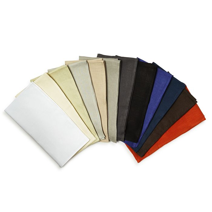 "Chilewich - Solid Linen Napkin, 21"" x 21"""
