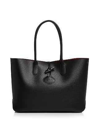 Longchamp Roseau Leather Tote Bloomingdale S