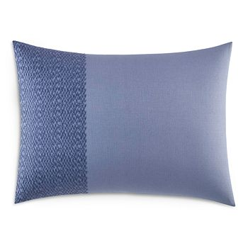 "Vera Wang - Chevron Cotton Piqué Decorative Pillow, 15"" x 20"""
