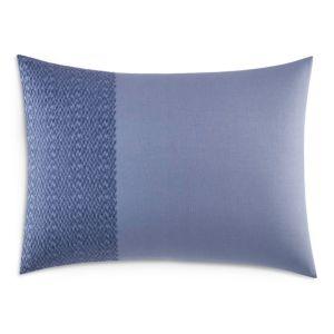 Vera Wang Chevron Cotton Pique Decorative Pillow, 15 x 20