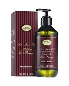 The Art of Shaving - Sandalwood Pre-Shave Oil, Large Pump 8.1 oz.