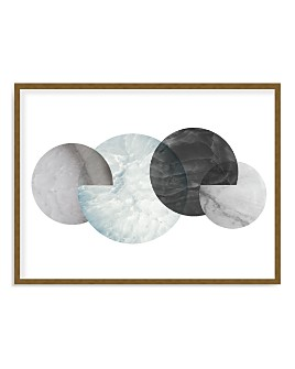 Art Addiction Inc. - Marble Moons Wall Art - 100% Exclusive