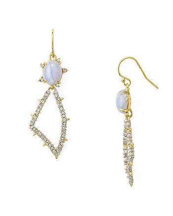 Alexis Bittar - Swarovski Crystal-Encrusted Pavé Petal Drop Earrings